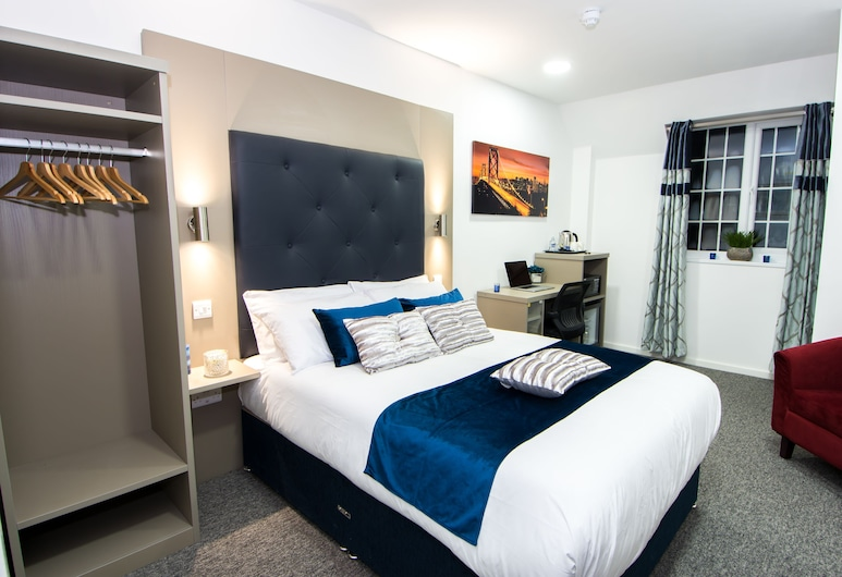 Abbey Hotel by Trivelles, Leicester, Double Room, Guest Room