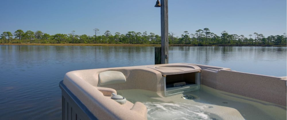 Cape San Blas Inn Port St Joe Outdoor Spa Tub