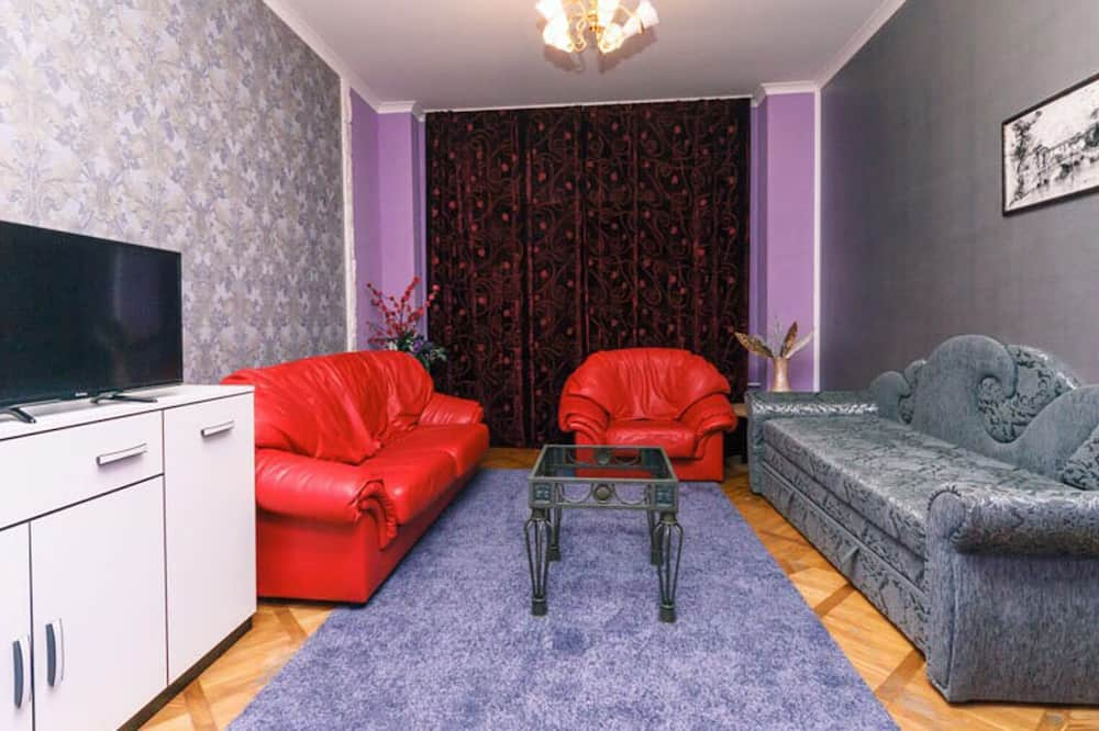 Lyxsvit - 2 sovrum - utsikt mot staden - executive-våning - Vardagsrum