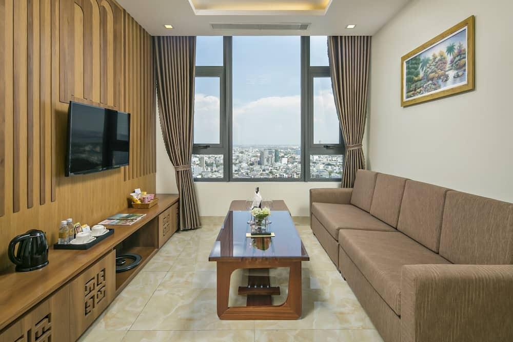 家庭公寓, 2 間臥室 - 客廳