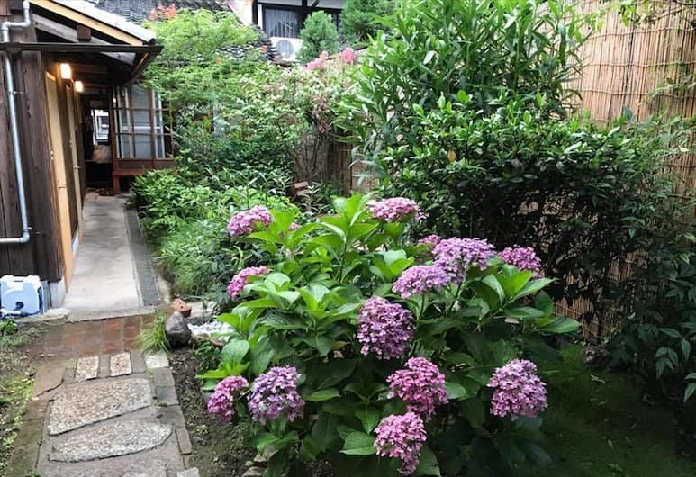 梅夜旅館, Kyoto, 花園