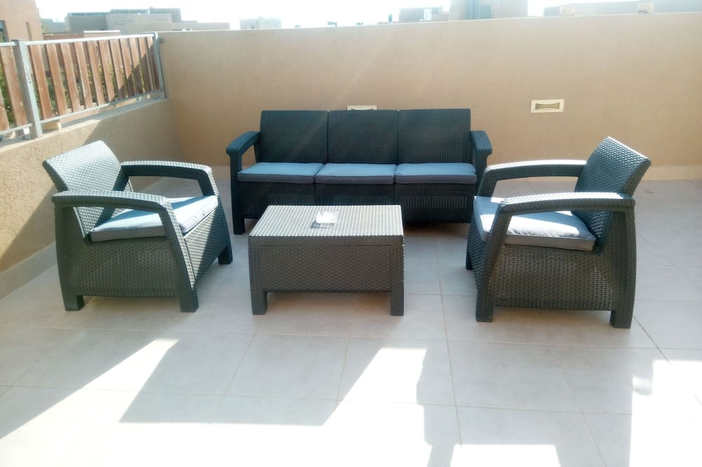 Luksusa numurs, divas guļamistabas - Balkons