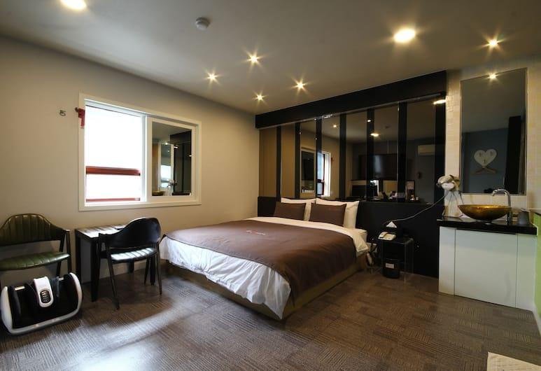 The M Hotel, Busan, Kamar Premium, Kamar Tamu