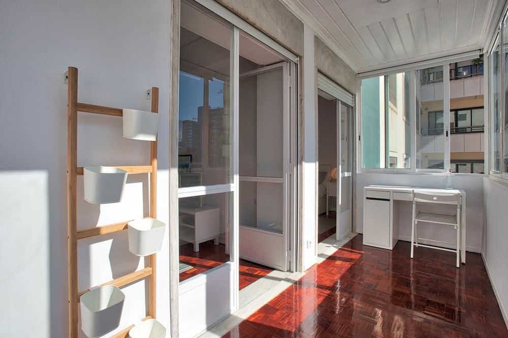 公寓, 1 間臥室 - 露台