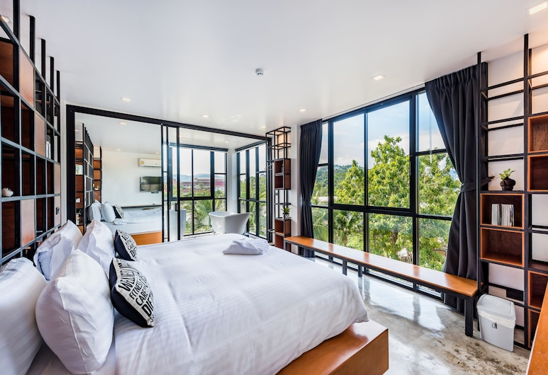 Book a Bed Poshtel - Hostel, Phuket, VIP Gallery Room with Private Bathroom, Guest Room