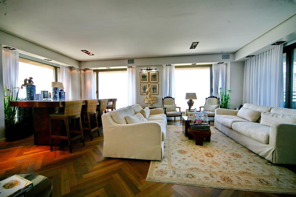Appartamento Business, 1 camera da letto, vista mare - Soggiorno