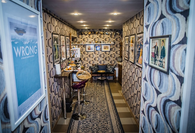 Lumier Guesthouse, Petrohrad, Hotelový salónik