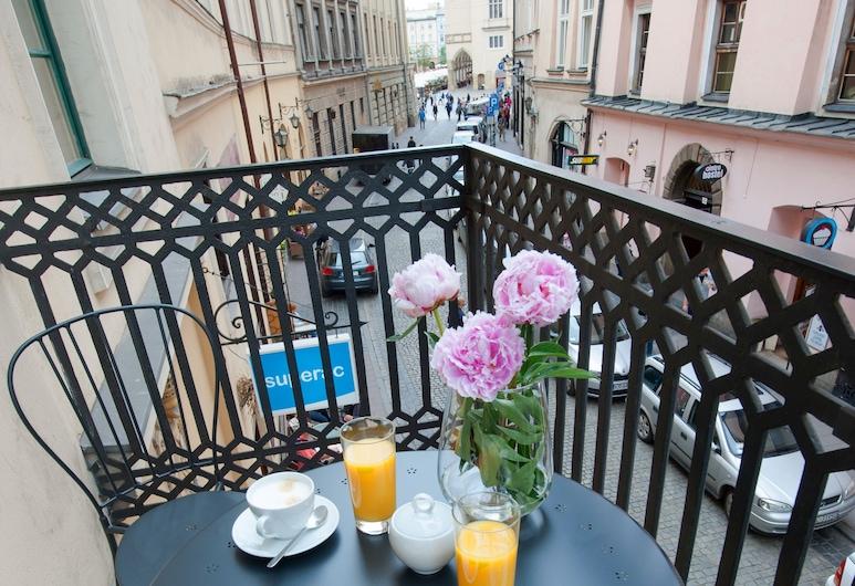 Apartments Roman, Krakow, Leilighet, 1 soverom (BALCONY - B3; 1st Floor), Balkong