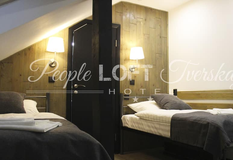 People LOFT Tverskaya Hotel, Mosca, Tripla Standard, Camera