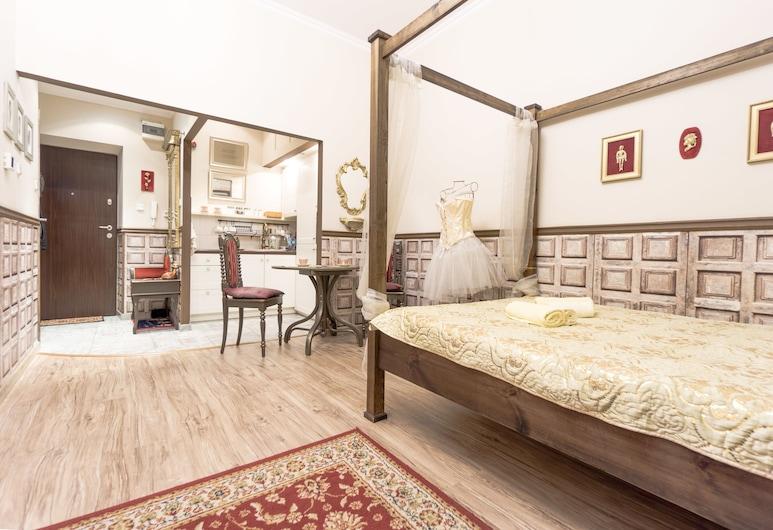 Apartament Casablanca, Kraków, Pokój dla 1 osoby Deluxe (Scarlet - Kalwaryjska 26), Pokój