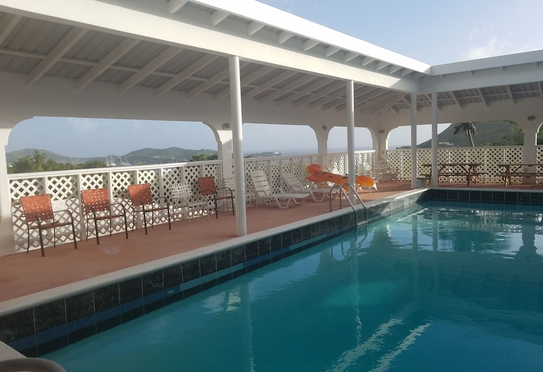 Horsford Hill Villas, Falmouth Harbour, Outdoor Pool