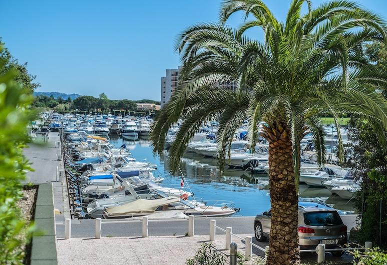 Cannes Marina Résidence - Appart Hôtel, Mandeljēlanapūla, Studijas tipa numurs, skats uz baseinu (2 PAX), Balkons