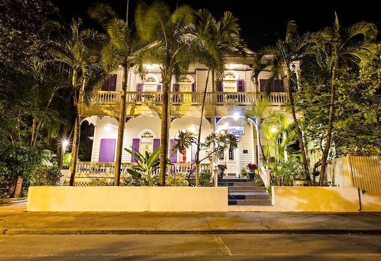 Marrero's Guest Mansion, Key West, Voorkant hotel - avond/nacht