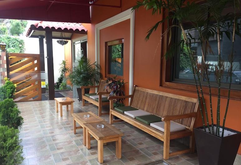 Hotel Tinkus Inn, לימה, מרפסת/פטיו