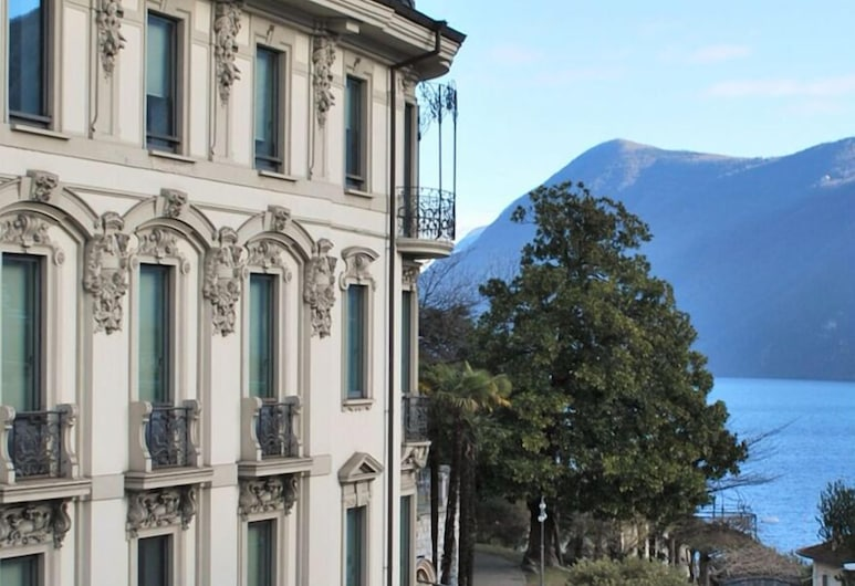 Lugano Center GuestHouse, Lugano, Viešbučio fasadas