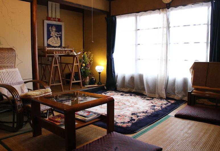 梵定寺飯店, Kyoto, 傳統雙床房, 共用浴室 (Japanese-Style), 客廳