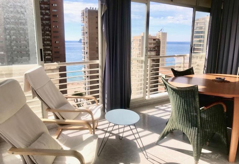 Caballos Apartment, Benidorm, apartman, 1 hálószobával, Terasz/udvar