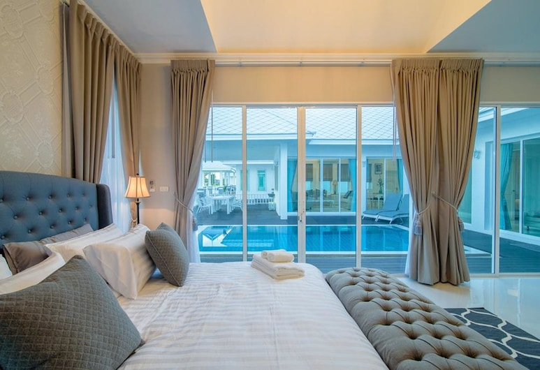반 마르윈 후아힌, Hua Hin, 3 Bedrooms Private Pool Villa, 객실
