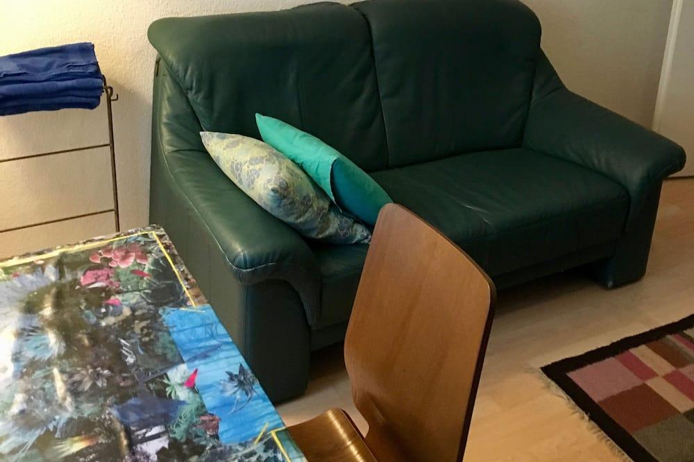Habitación individual básica, baño compartido - Zona de estar