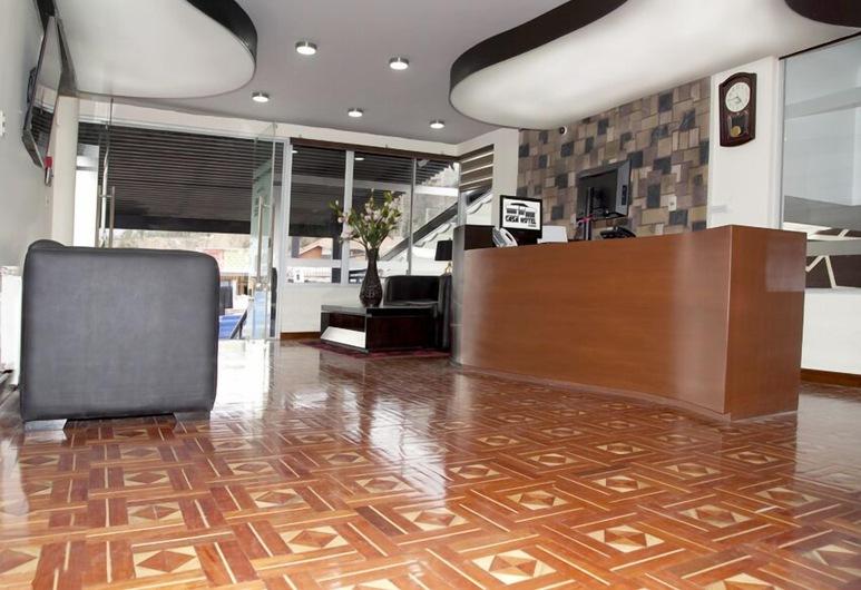 CASA HOTEL ACHUMANI, La Paz, Rezeption