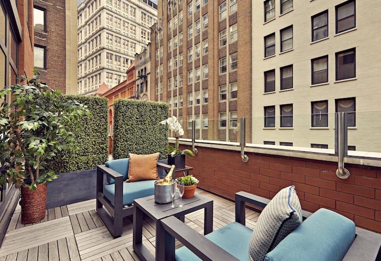 Artezen Hotel, New York, Terrasse/veranda