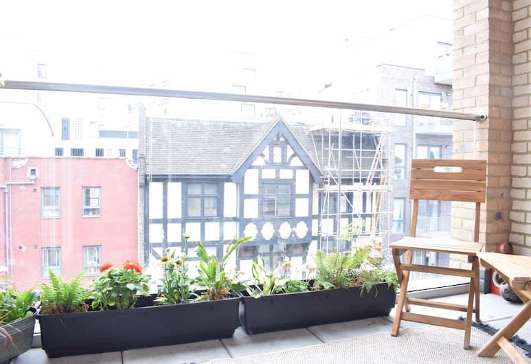 South London 1 Bed Flat with Balcony, London, Külaliskorter, 1 magamistoaga, Rõdu