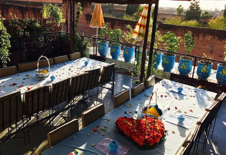 Young and Happy Marrakech, Марракеш, Загальне спальне приміщення, Змішаний дортуар (1), Тераса/внутрішній дворик
