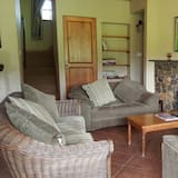 Comfort cottage, 4 slaapkamers - Woonkamer