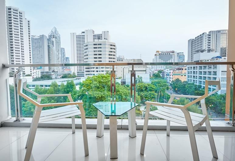 ナナ ヒソ ホテル, バンコク, Superior Twin Room, バルコニー
