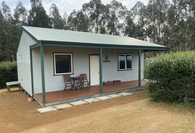 Manyat Peak Cottages, Porongurup, Cottage, 2 chambres, vue montagne (Carnaby), Terrasse/Patio