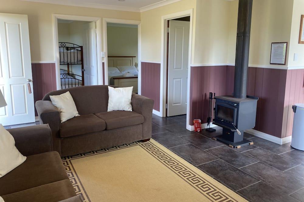 Cottage, 2 slaapkamers, uitzicht op bergen (Boobook) - Woonruimte