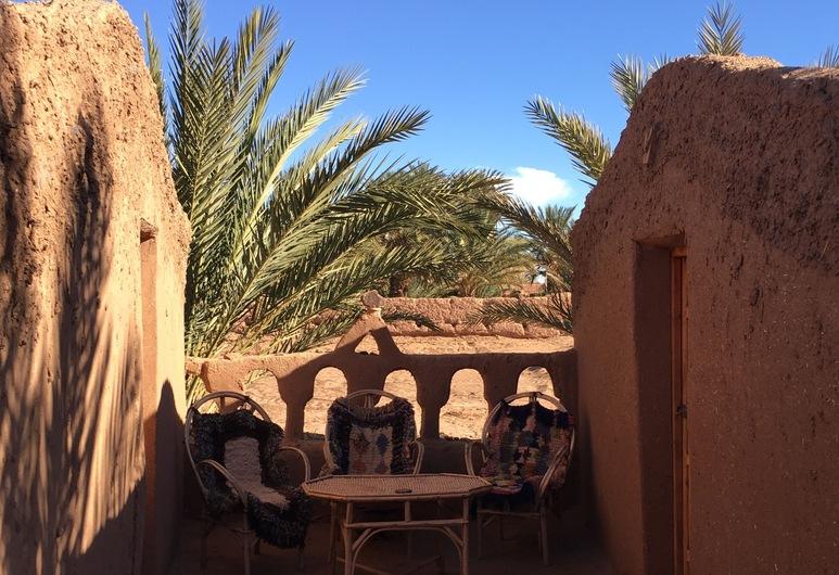 Auberge la Palmeraie, M'Hamid El Ghizlane, บังกะโล, ลานระเบียง/นอกชาน