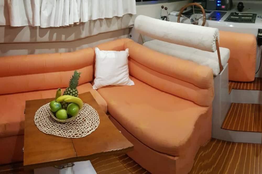 Apartament luksusowy typu Suite, widok na morze - Powierzchnia mieszkalna