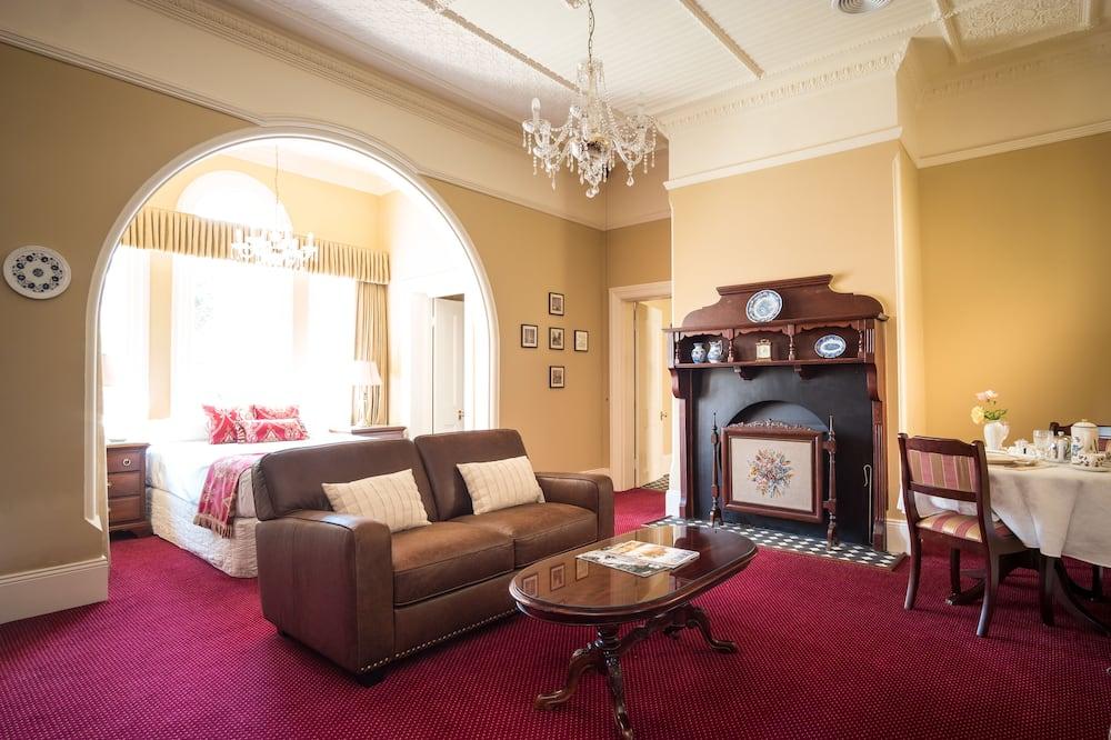 Suite Luxury, 1 letto queen - Area soggiorno