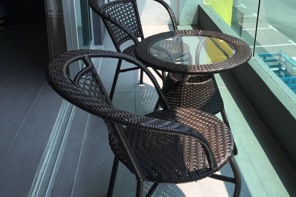 Pokój dla 3 osób, balkon - Balkon