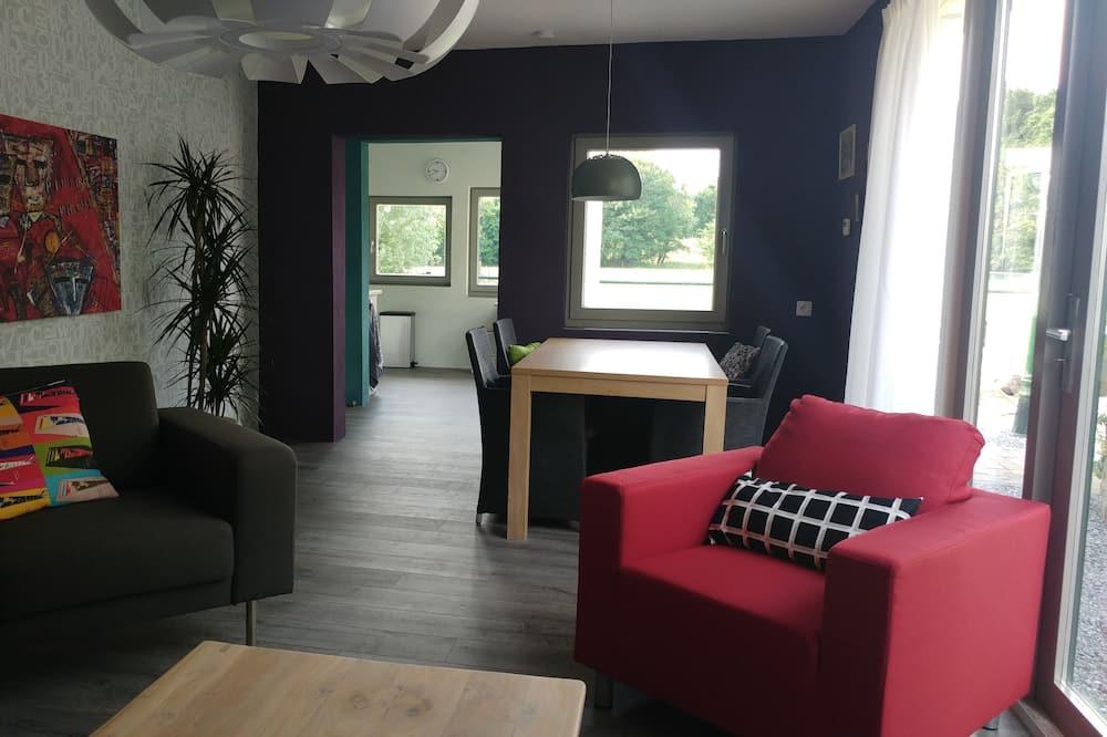 Paaugstināta komforta dzīvokļnumurs, viena guļamistaba, nesmēķētājiem - Dzīvojamā zona