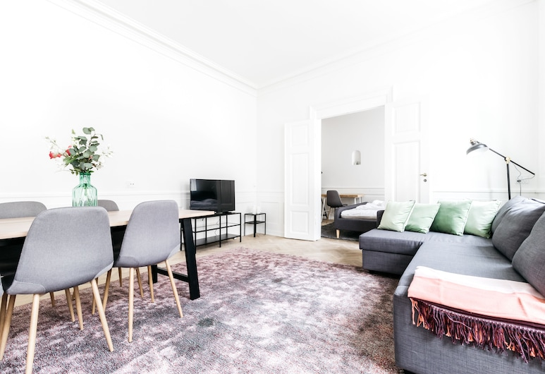 Heritage apartments in the city centre, Kopenhagen, Apartment, 3 Schlafzimmer, Wohnbereich