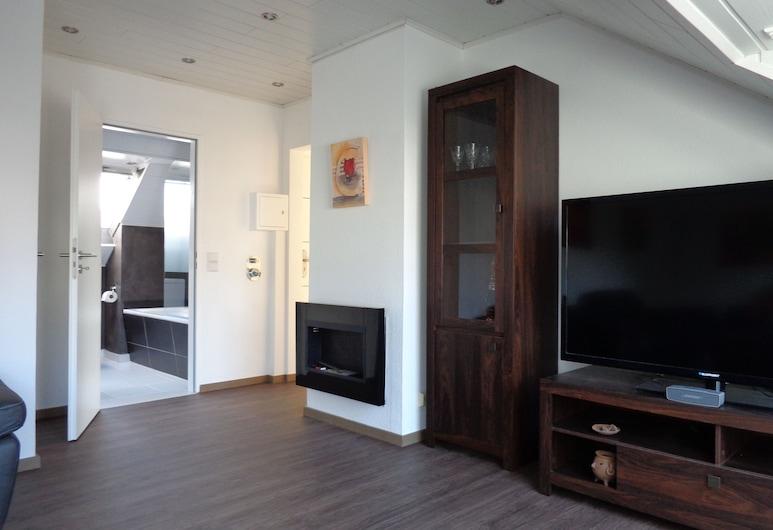 Exclusive Apartment - Rees, Rees, Vönduð íbúð - 1 svefnherbergi, Stofa