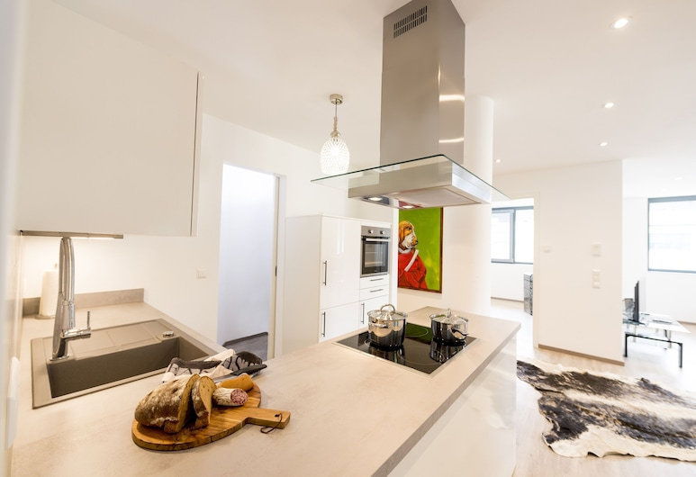 Postsattler City Apartments, Albstadt, Appartement Deluxe, 1 chambre, non-fumeurs, Chambre