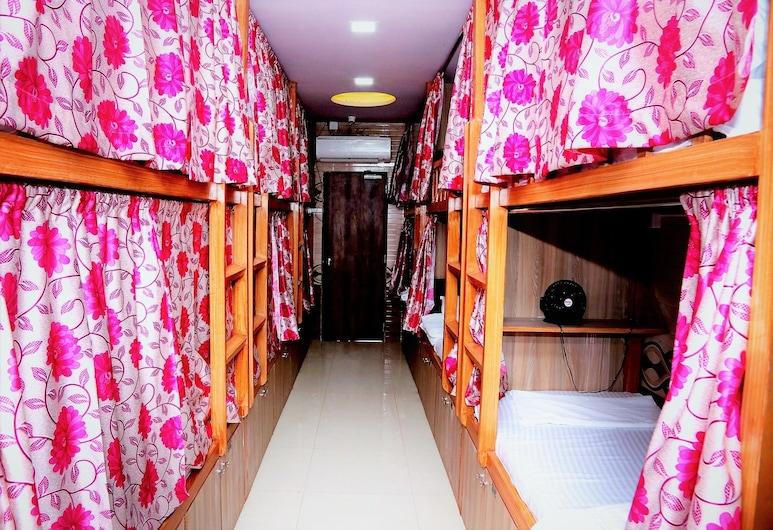 Delta Dormitory, Mumbai, Gemeinsamer Basic-Schlafsaal, Nur Männer, Nichtraucher, Buchtblick, Zimmer
