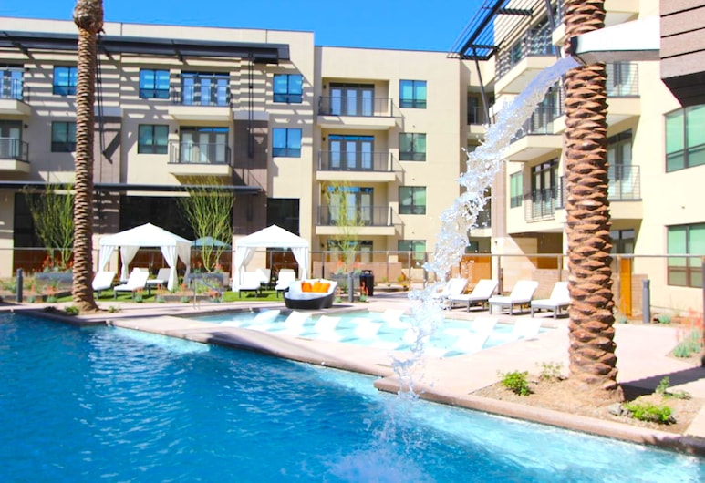 The Stay in Old Town, Scottsdale, Piscina com Cascata
