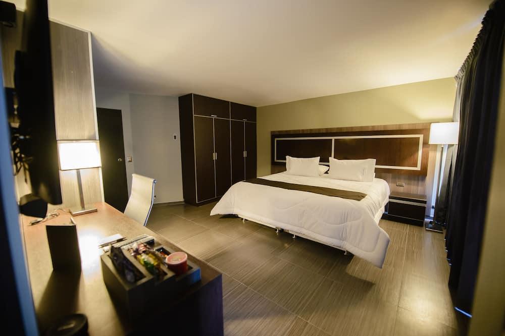 Liukso klasės numeris, 1 labai didelė dvigulė lova - Svečių kambarys