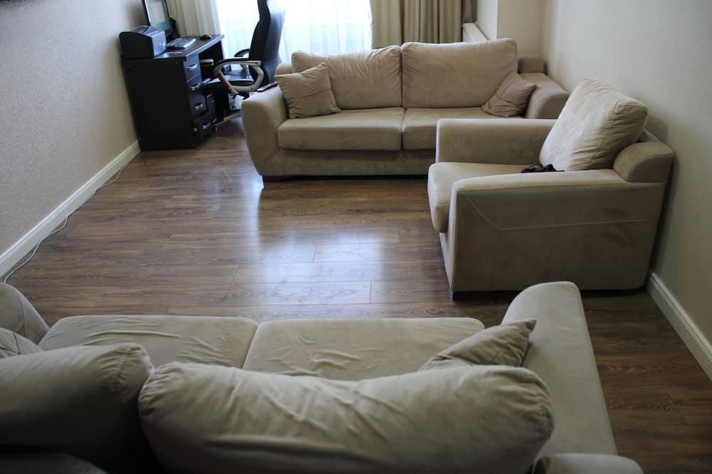 舒適公寓, 3 間臥室 - 客廳