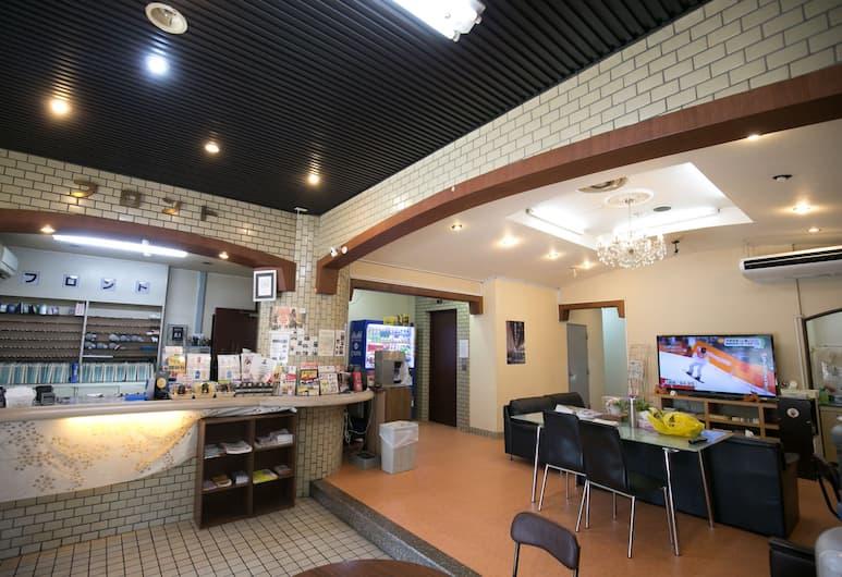 Hotel Chuo, 大阪市, フロント
