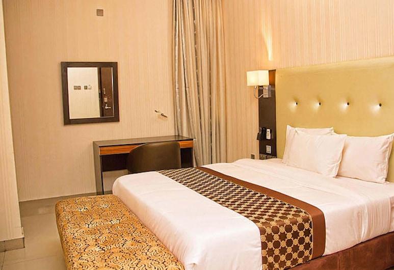 拉凱姆套房飯店 - 阿格波伊蘇魯樂雷, 拉各斯, 標準客房, 1 張標準雙人床, 非吸煙房, 客房