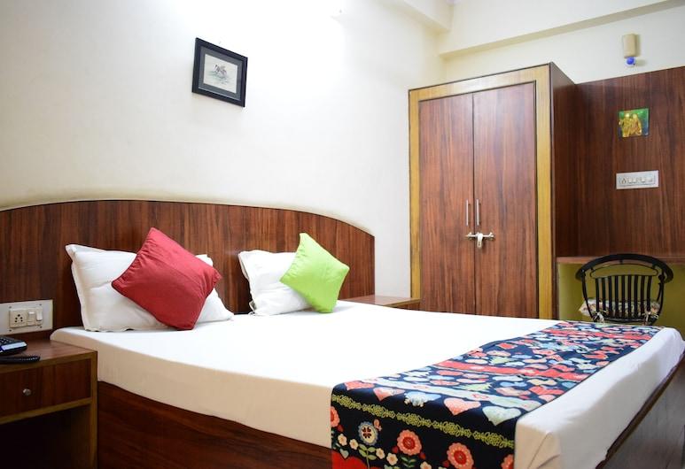 Konark Palace hotel, Jaipur, Quarto luxo, Vista (do quarto)