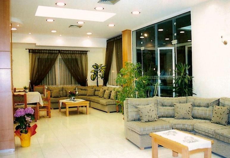 Hotel Pyrassos, Volos, אזור ישיבה בלובי