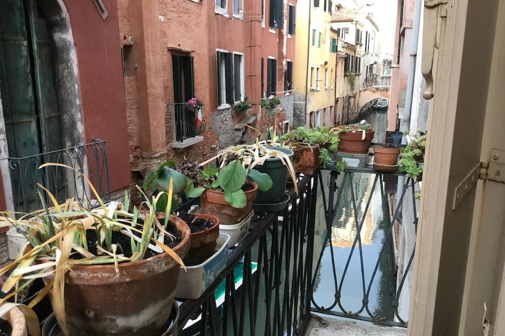 Habitación doble Confort, para no fumadores, vista al canal - Balcón