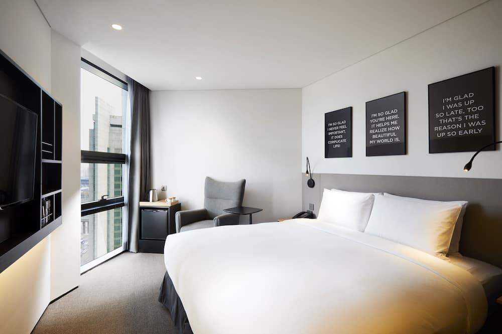 Standard szoba kétszemélyes ággyal - Kilátás a városra