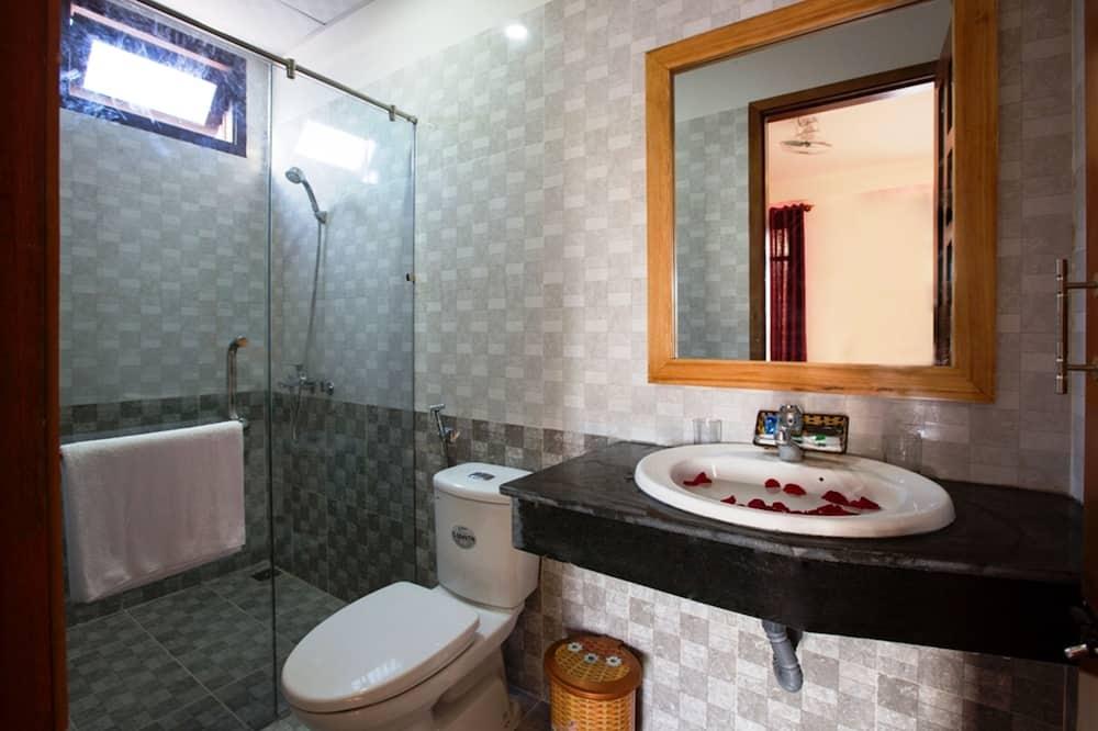 Family Room, Balcony - Bathroom